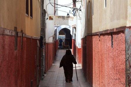 Space Invader, Invasion of Rabat. Photo credit Invader