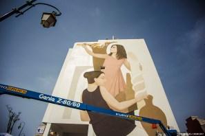Fikos, Jidar Street Art Festival, Rabat 2017