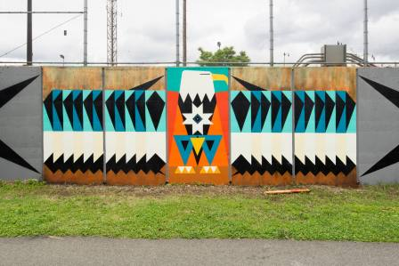 Kaplan Bunce, POW! WOW! Street Art Festival 2017, NoMa, Washington D.C. Photo Credit POW! WOW!