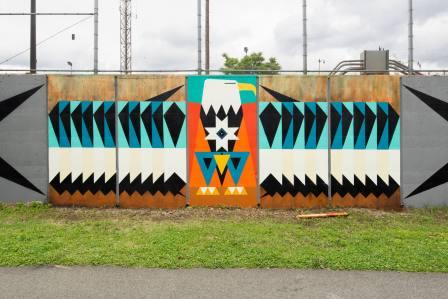 Kaplan Bunce, POW! WOW! Street Art Festival 2017, NoMa, Washington D.C. Photo Credit POW! WOW!