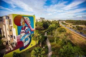 Rocha, Jidar Street Art Festival, Rabat 2017
