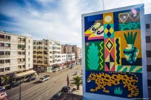 Saddo, Jidar Street Art Festival, Rabat 2017
