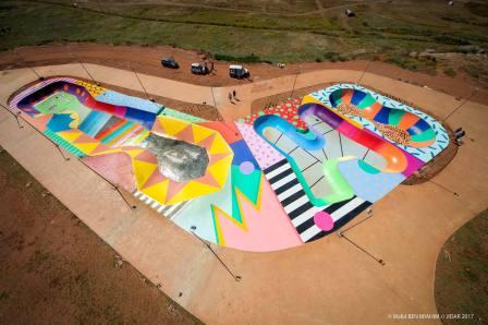 Skatepark, Jidar Street Art Festival, Rabat 2017