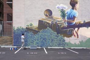 Qbic, POW! WOW! Street Art Festival 2017, NoMa, Washington D.C. Photo Credit POW! WOW!