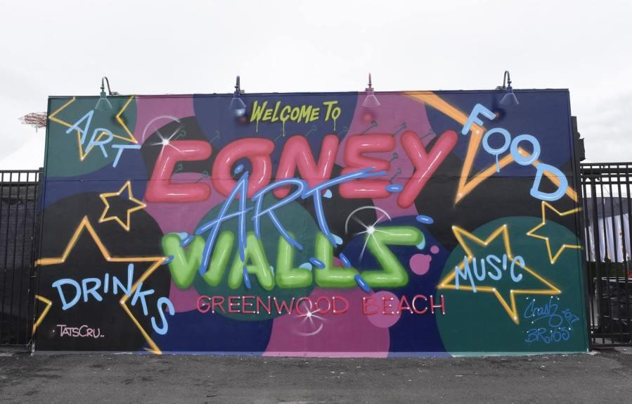 Crash, Coney Art Walls, New York City 2017. Photo Credit Martha Cooper