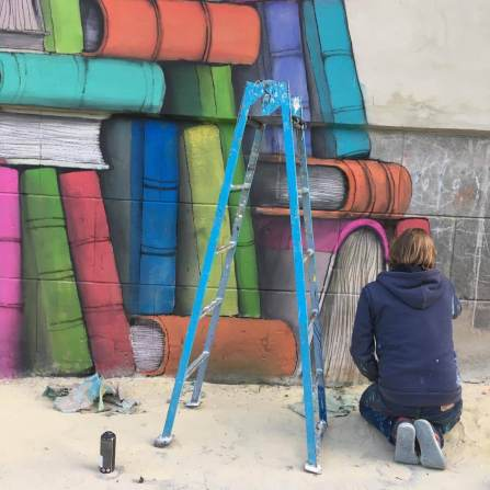 Back to School! Ukraine 2017. Photo credit Mural Social Club