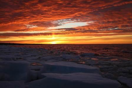 Churchill Sunset. Photo Credit Tré Packard