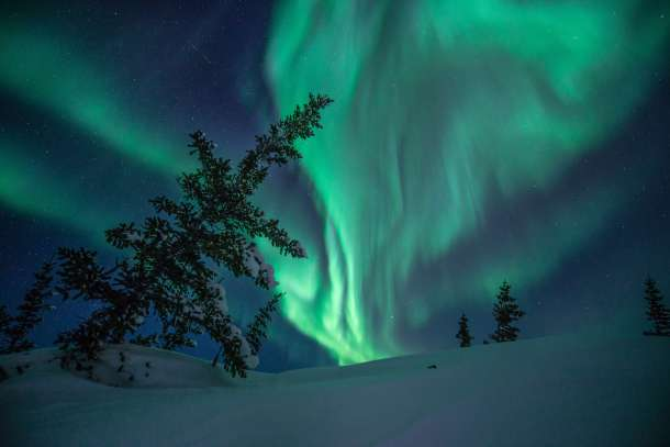 Northern Lights. Photo Credit Alex de Vries