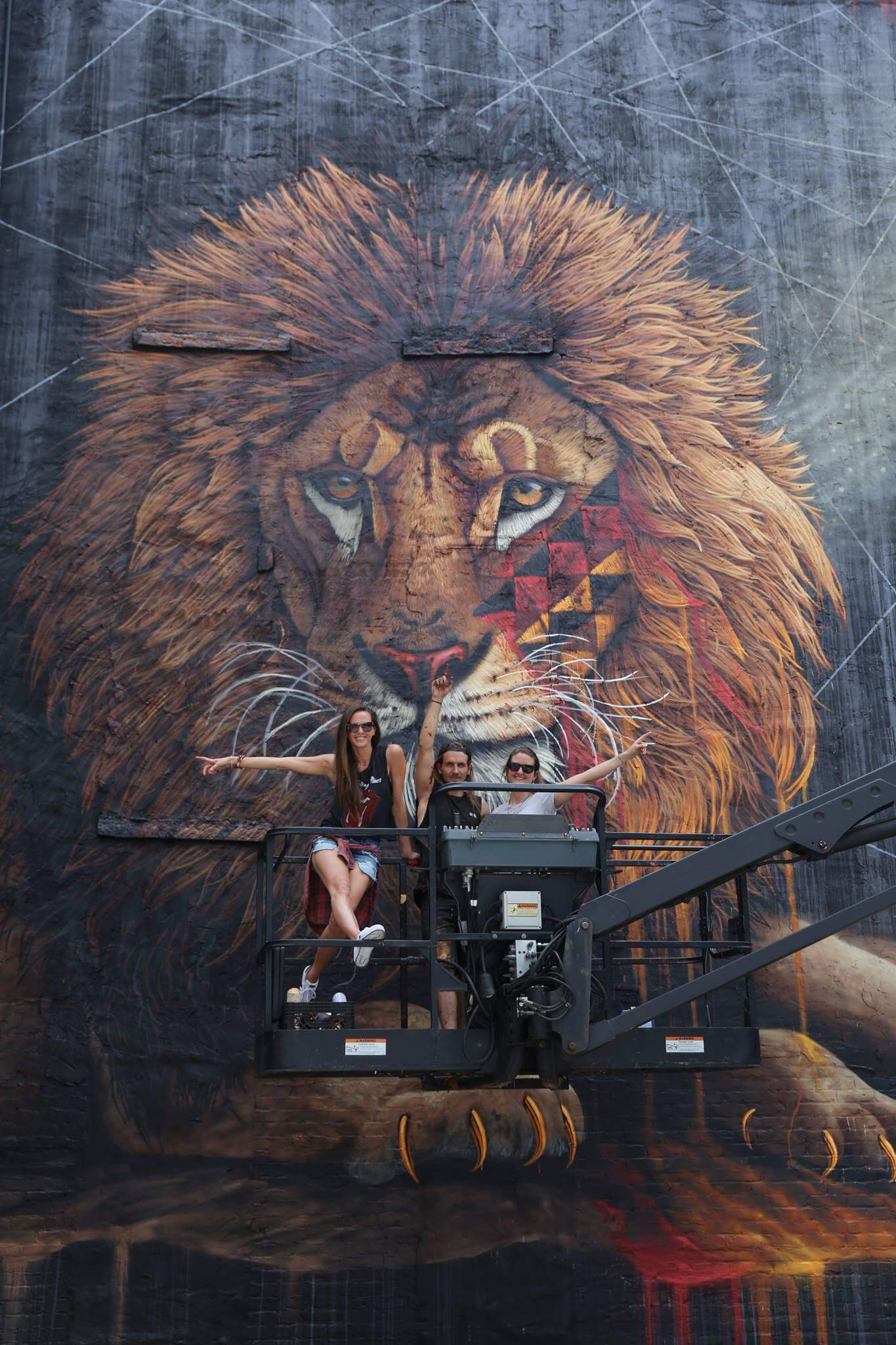 Lion Mural Ideas