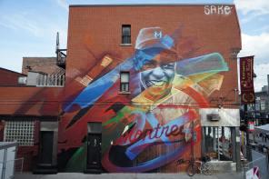 Fluke Daniel, Mural International Public Street Art Festival, Montreal, Canada 2017. Photo credit @halopigg