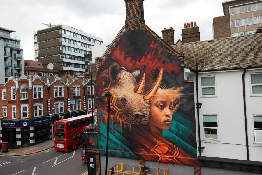 Sonny-street-art-endangered-animals-rhino-london-mural-1