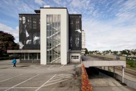 Ricky Lee Gordon, Nuart Street Art Festival, Stavanger, Norway 2017. Photo credit Ian Cox