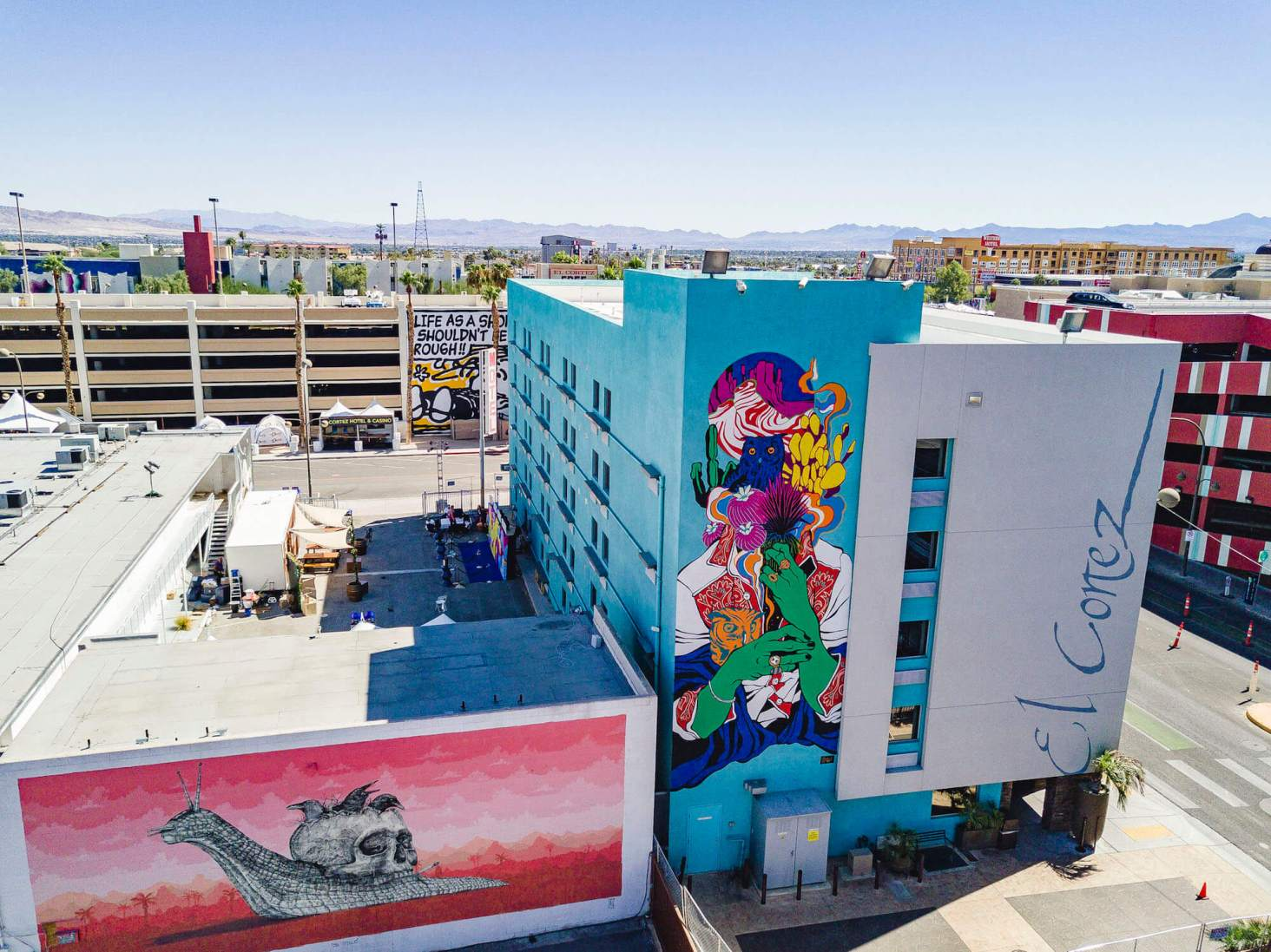 Life Is Beautiful Urban Art Festival Downtown Las Vegas 2017