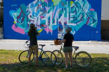 Hueman, SHINE st Petersburg Street Art Festival, Florida 2017. Photo Credit Iryna kanishcheva
