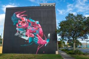 Joram Roukes, SHINE st Petersburg Street Art Festival, Florida 2017. Photo Credit Iryna kanishcheva