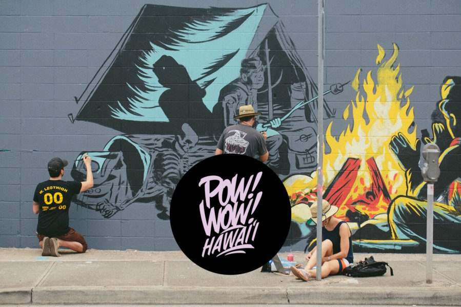 Pow! Wow! Street Art Festival, Hawaii 2018. Photo Credit Pow! Wow!