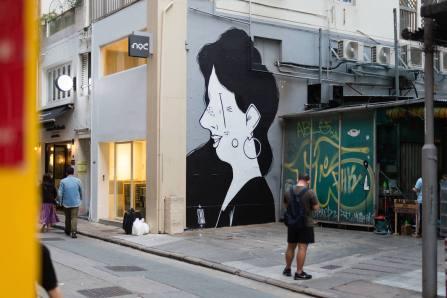 HKWalls Street Art Festival, Hong Kong 2018.