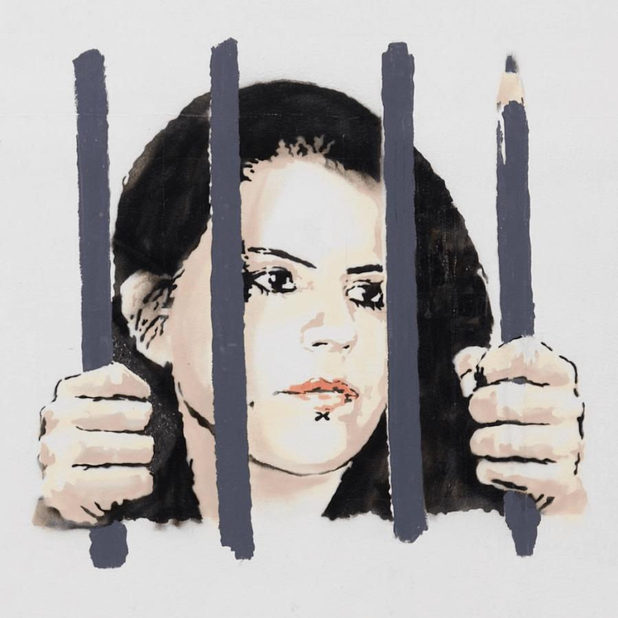 Zehra Dogan. Art and Photo Banksy 2018