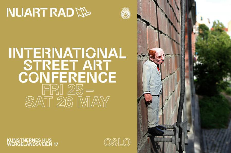 Nuart RAD International Street Art conference brings Power to the People, Oslo 2018