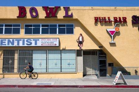 Invader, 7th Wave of Los Angeles invasion 2018. Photo Credit Invader