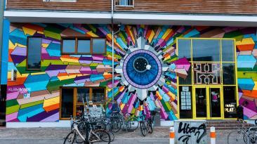 Klebebande, Berlin Mural Fest 2018. Photo Credit Berlin Mural Fest