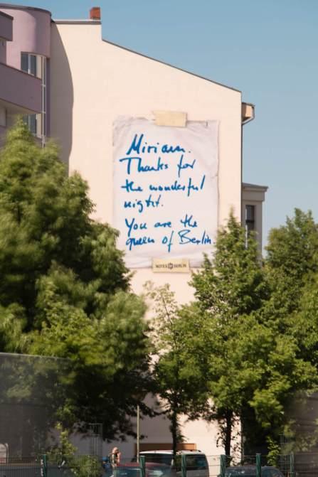 Notes of Berlin, Berlin Mural Fest 2018. Photo Credit Berlin Mural Fest
