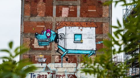One Truth, Berlin Mural Fest 2018. Photo Credit Berlin Mural Fest