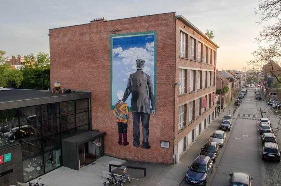 Street Art Antwerp, Belgium