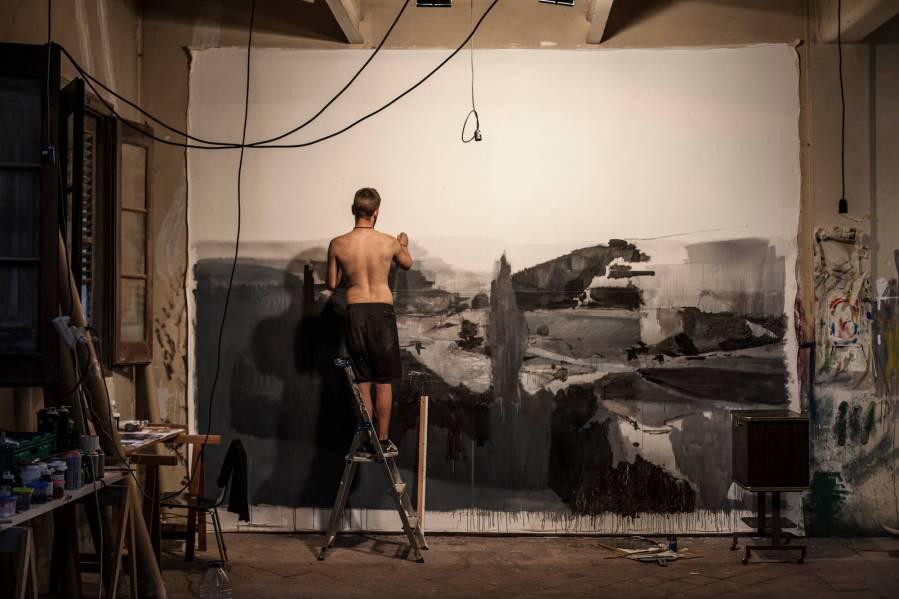 Alberto Montes Work in Progress Photo Credit Vinny Cornelli