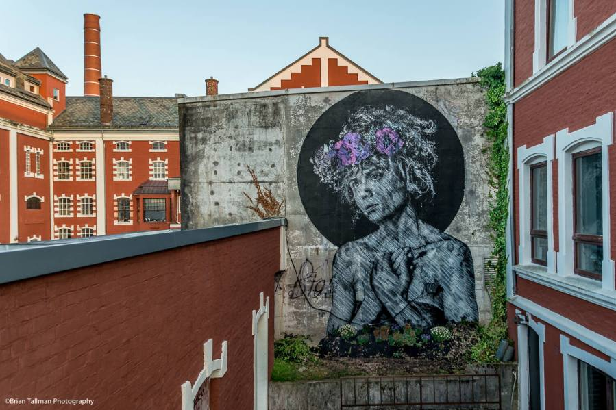Snik, Nuart Street Art Festival , Space is the Place, Stavanger, Norway 2018. Photo Credit Brian Tallman