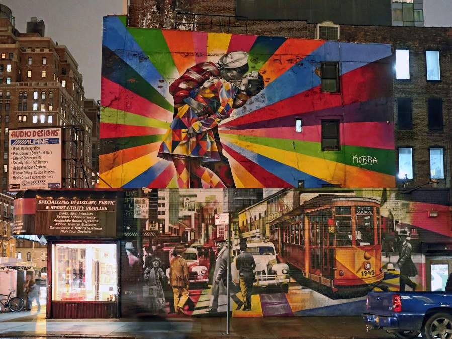 KOBRA, The Kiss 2012, New York City 2018. Photo Copyright Just_a_Spectator