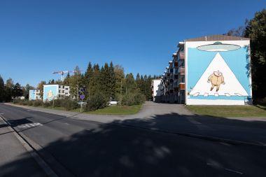 Pertti Jarla, UPEA Street Art Festival, Finland 2018. Photo Credit Rami Marjamaki