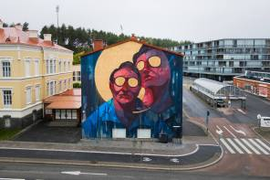 Sepeusz, UPEA Street Art Festival, Finland 2018. Photo Credit Niki Rutanen