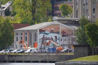 Art for All in the World, Skien 2018. Photo Credit Art for All in the World