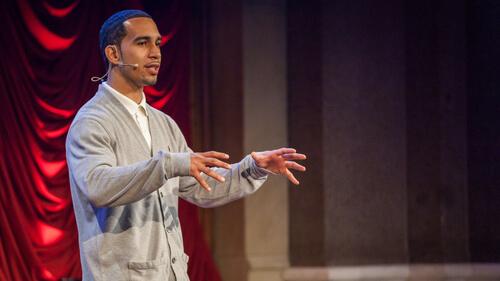 Activist Ismael Nazario, We The Future. Public Speaking