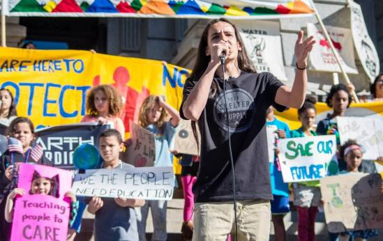 Activist Xiuhtezcatl-Martinez, We The Future.