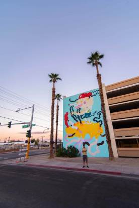 Joakim Ojanen, Life is Beautiful 2018. Downtown Las Vegas. Photo Credit Justkids