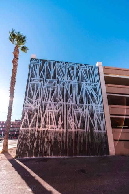 Retna, Life is Beautiful 2018. Downtown Las Vegas. Photo Credit Justkids