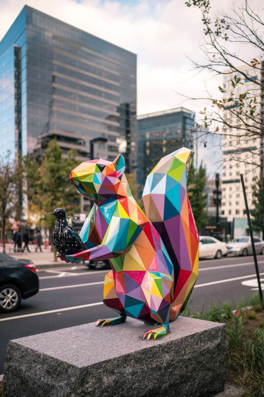 "Okuda, Domestic, ""Air, Sea, Land "", Boston Seaport 2018. Photo Credit Justkids"