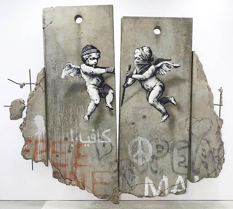Banksy, World Trade Market 2018. ExCel London.