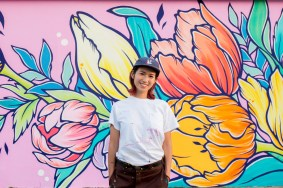Luise Ono, POW! WOW! Hawaii 2019. Photo Credit Ianny catches walls