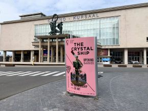 The Crystal Ship, Oostende 2019. Photo credit Alex Stanhope / GraffitiStreet