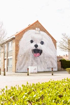 Escif, The Crystal Ship Street Art Festival, Ostend, Belgium 2019. Photo Credit Ostend Tourism