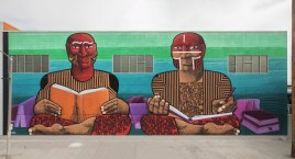 Nunca, Maya Angelou Mural Festival, Los Angeles 2019. Photo Credit Static Medium