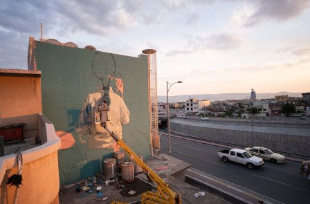 Pat-Perry-Opening-Lines-Connecting-Communities-Street-Art-Iraq-USA-2019-pc-Emad-Rashidid-16