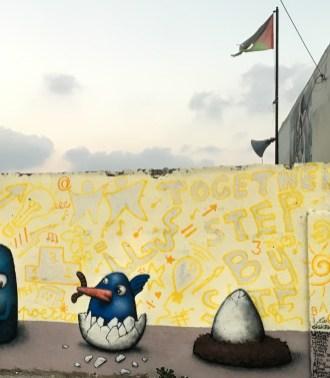 Ador 'BLOOM' - Anabta, Palestine 2019. Photo Credit Ador.