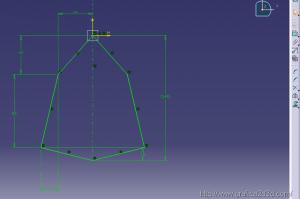 catia v5 : piastrina meccanica 4