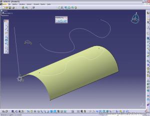 Tutorial surface catia 05