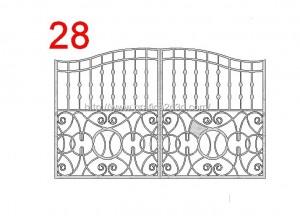 Disegni cancelli in dwg : catalogo 2.13
