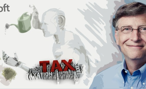 BILL GATES VS ROBOT TAX GRAFICA LANCIANO